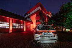 Night of Light 2021 - DRK-Zentrale in Koblenz (2)
