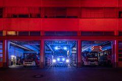 Night of Light 2021 - Feuerwehrwache in Koblenz (2)