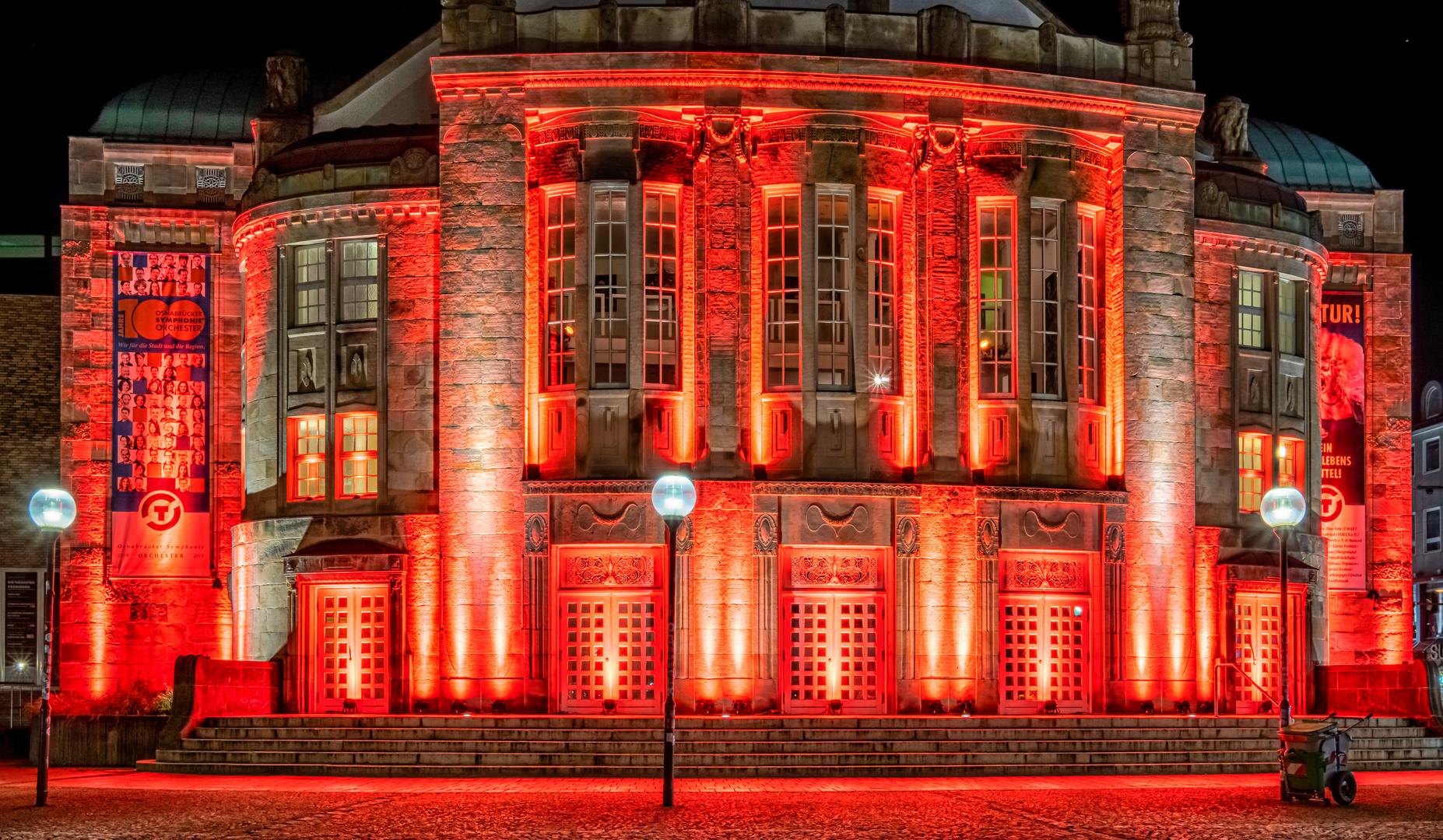 Night of Light - Theater Osnabrück