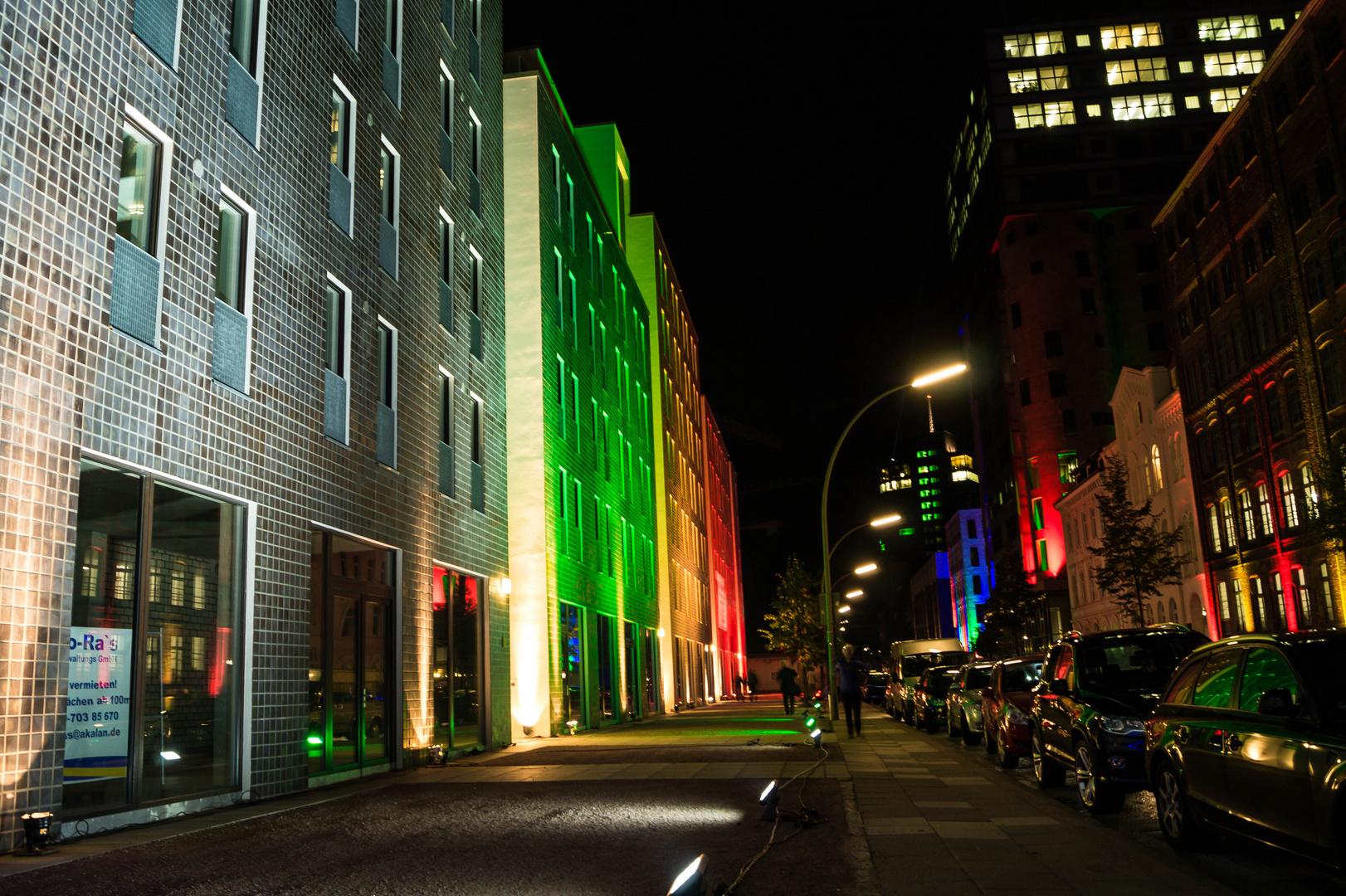 Night of the lights 2 - Hamburg