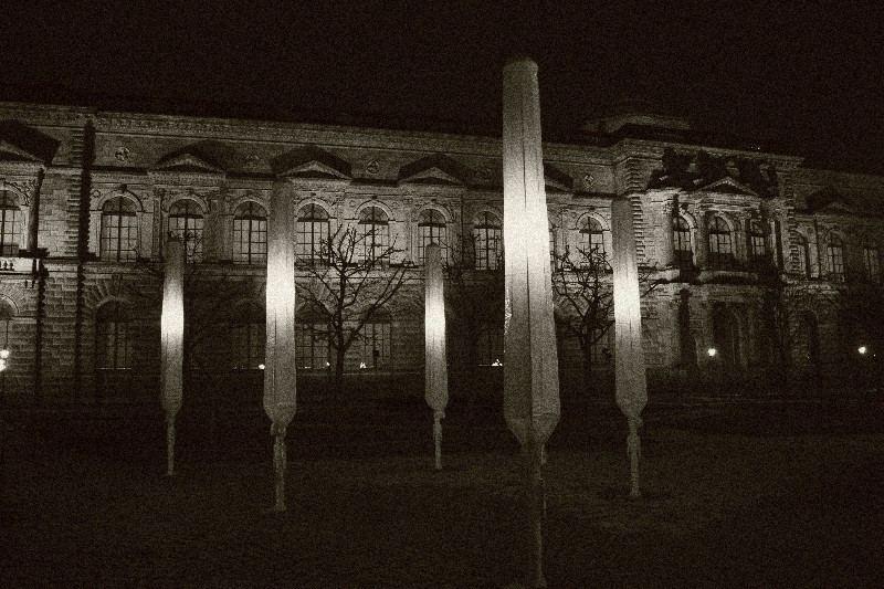 Night of the umbrellas