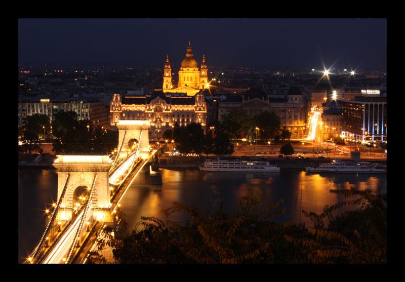 Night over Budapest