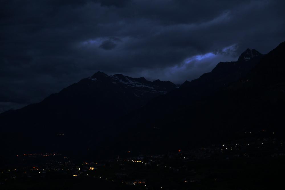 Night over Merano