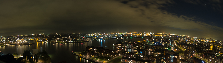Night over Rotterdam