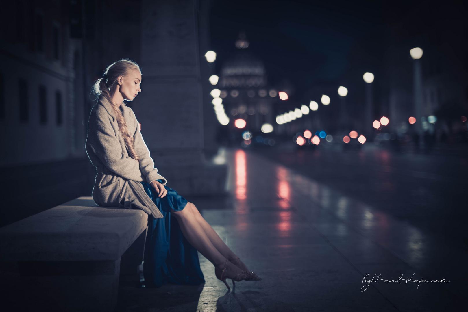 Night Shot in Rome