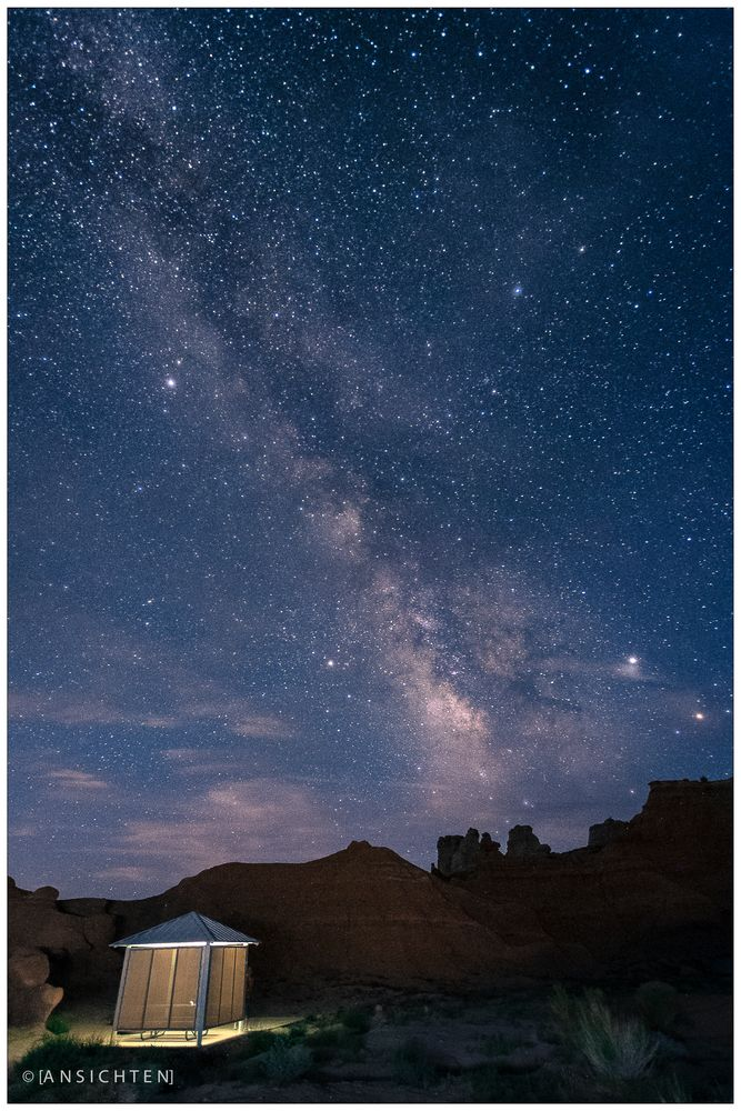 [night sky I goblin valley]