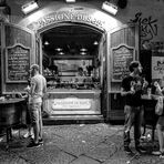 Night street food in Naples
