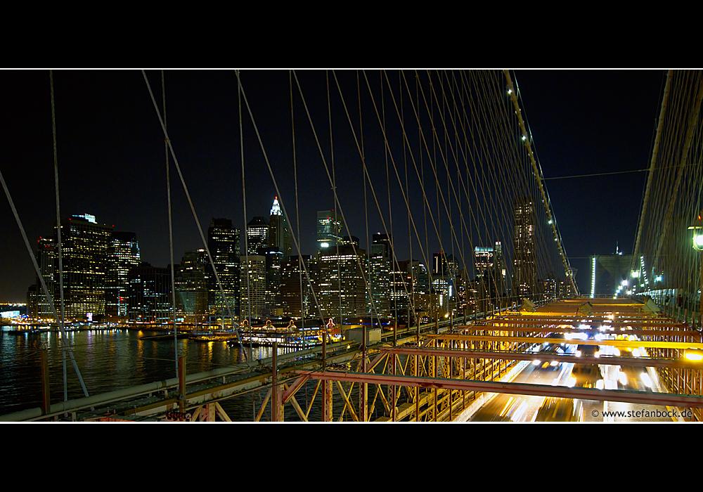 Night Traffic, New York City Serie XXXIX