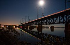 Night Trains - No. 2 Susquehanna Moonlight Crossing