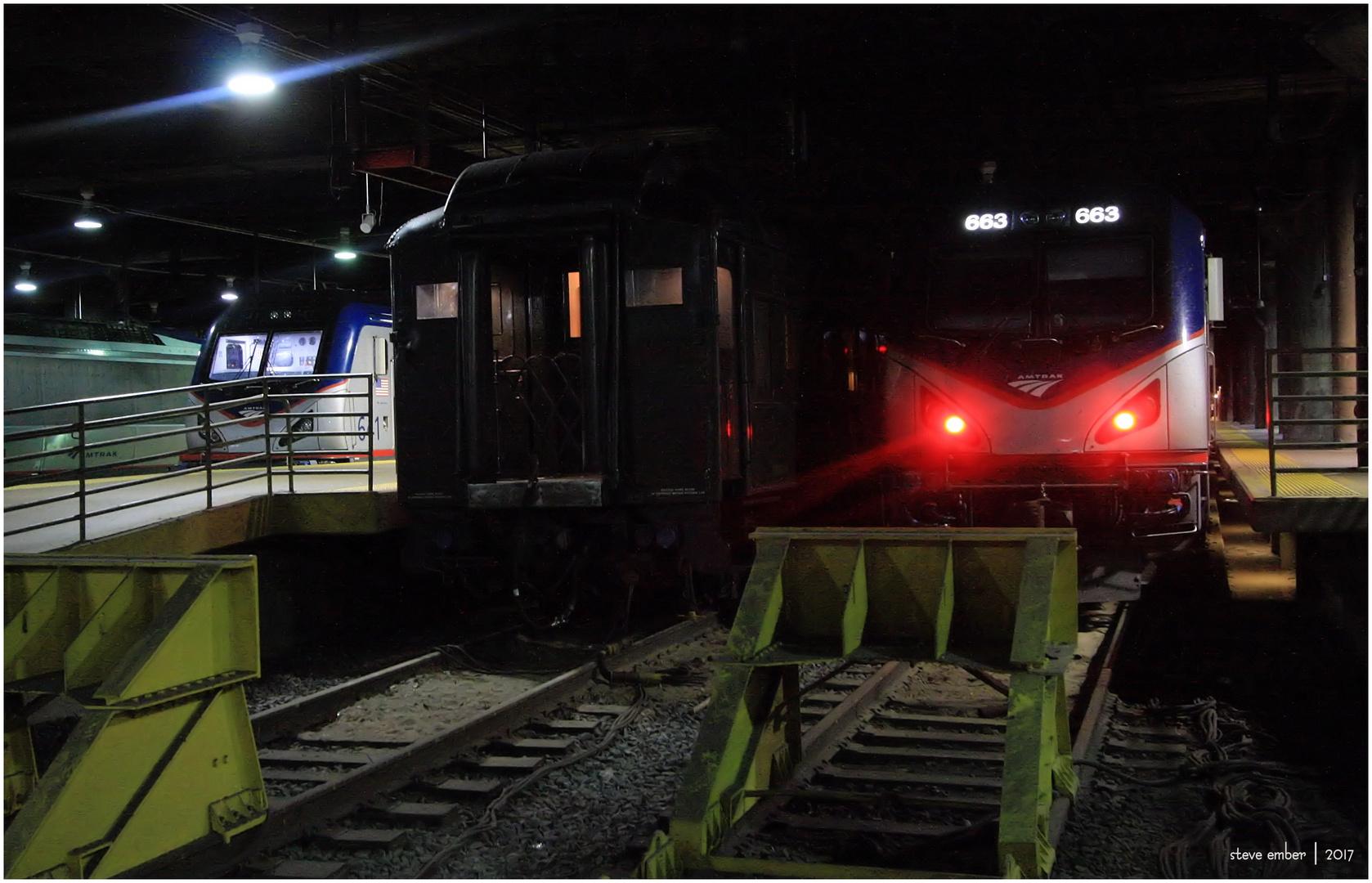 Night Trains No. 4 - A 'Time Machine' at 2 AM