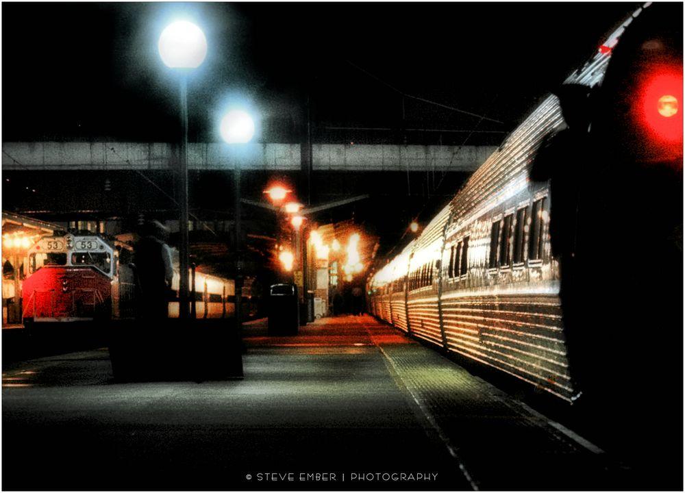 Night Trains No. 8 - Pennsylvania Station, Baltimore