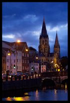 Night View of some place in Cork