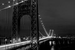 Night view of the George Washington Bridge
