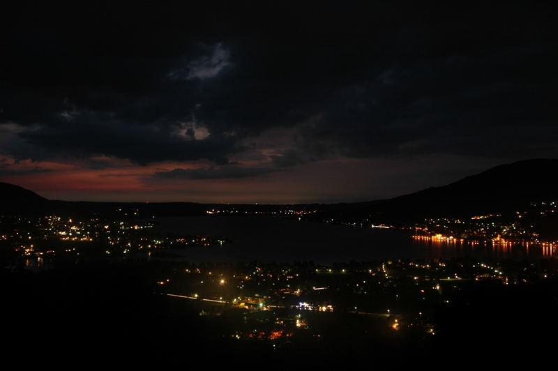 Night with lights...