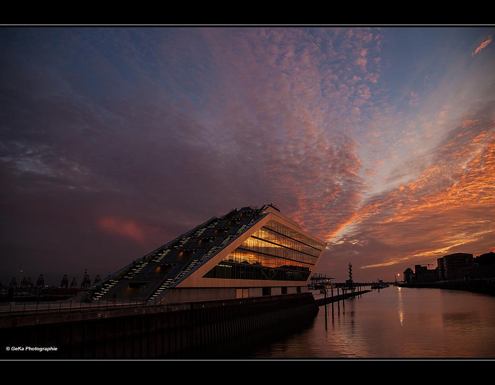 Nightfall on Dockland