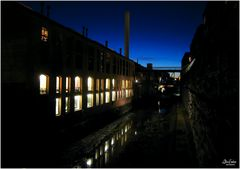 Nightfall on the Canal - A Georgetown Impression