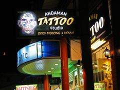 Nightlife at Phuket, Tattoo-Studio