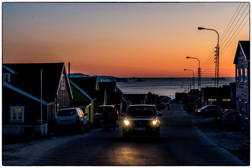 Nightlife in Ilulissat
