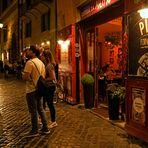 Nightlife in Rom Trastevere -