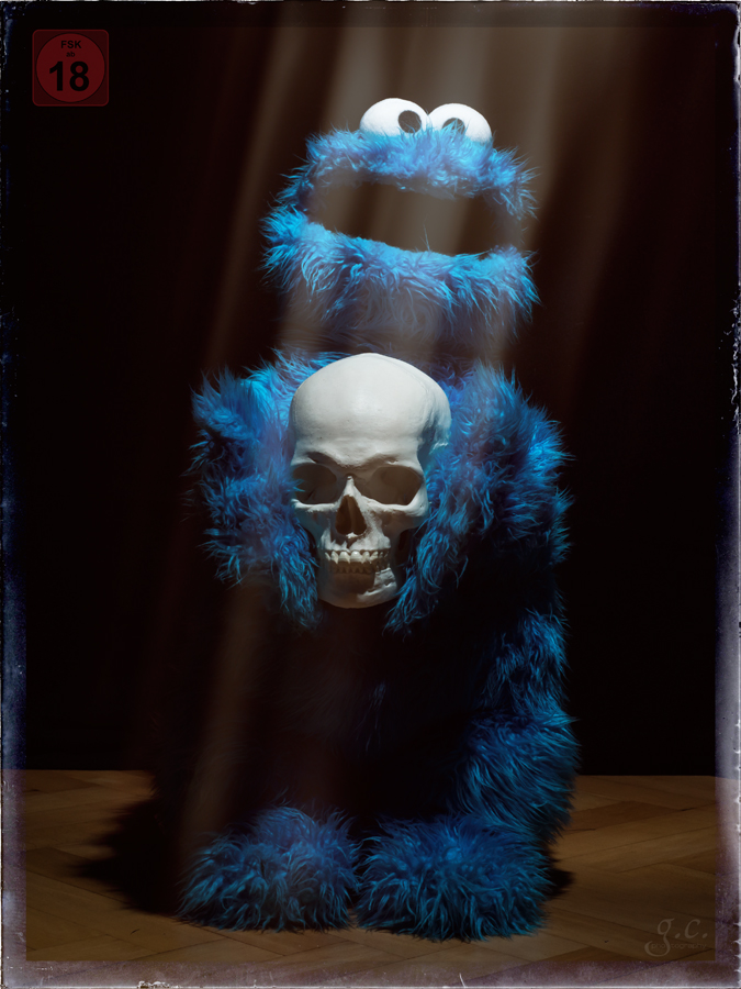 Nightmare On Sesame Street Foto Bild Stillleben Arrangierte