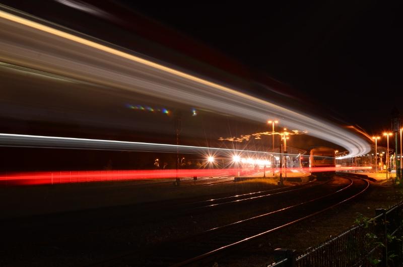 Nightshoot Bahnhof