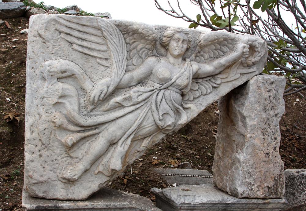 Nike Relief in Ephesos Türkei