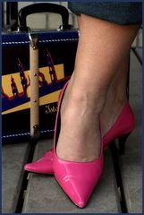 Nikki's feet