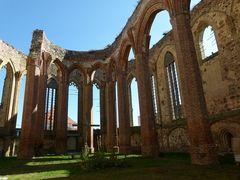 Nikolai-Kirche in Zerbst ,Innenansicht