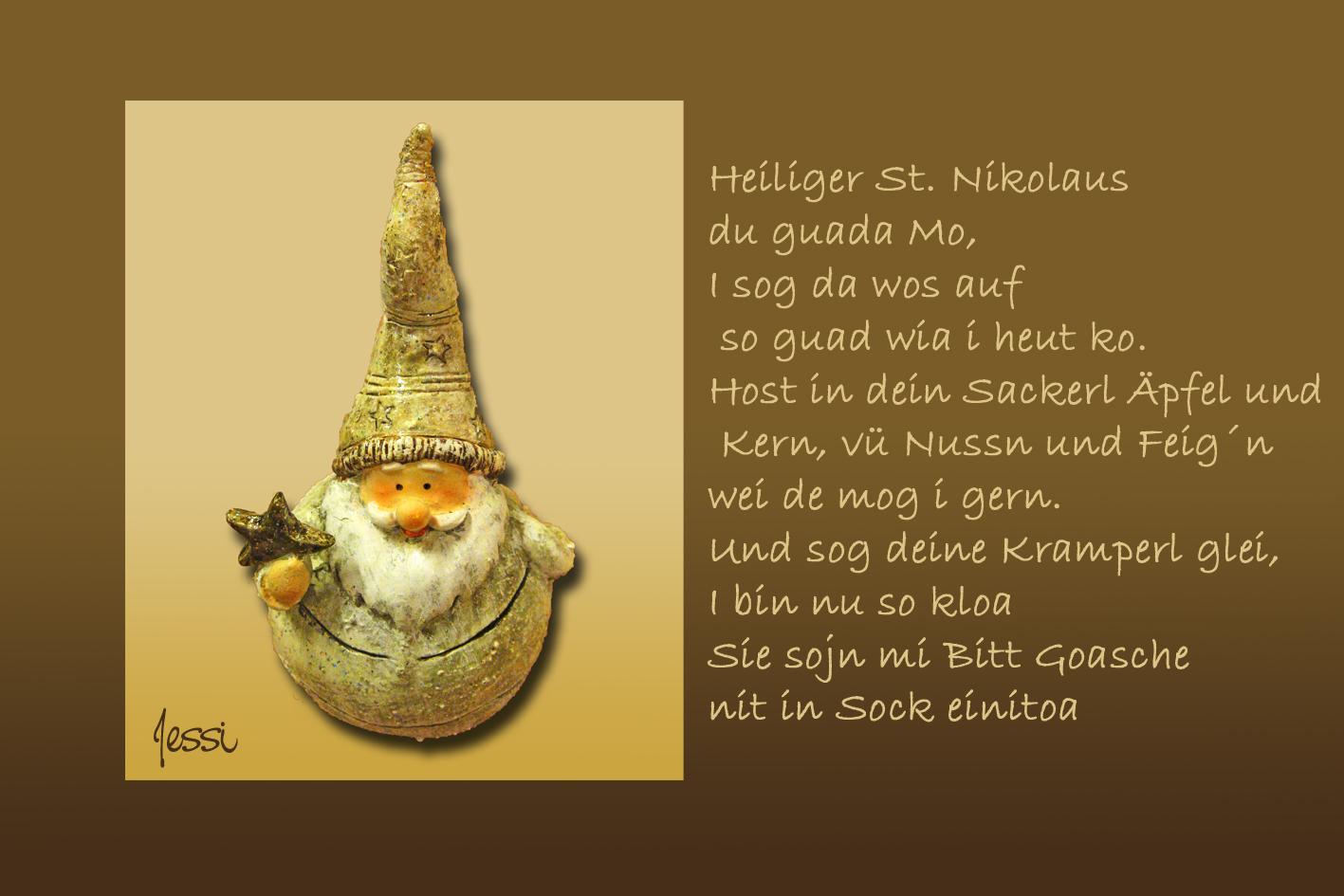 Nikolaus - Gruß Foto & Bild | karten und kalender, weihnachtskarten ...