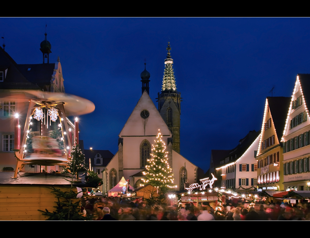 ~ Nikolausmarkt in Rottenburg am Neckar ~
