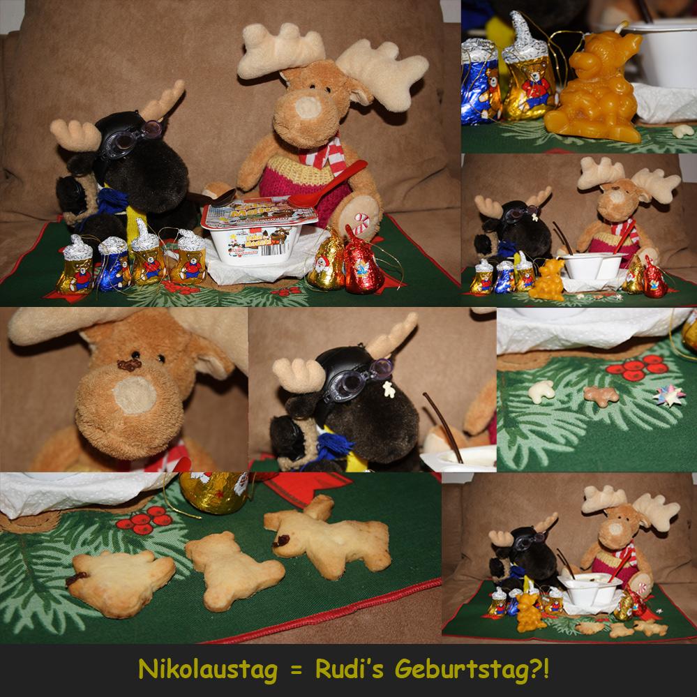 Nikolaustag Rudi S Geburtstag Foto Bild Quatsch Fun Und