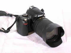 Nikon D 40x (mit Optik 17-135 mm)
