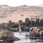 NIL Wueste Assuan egypt
