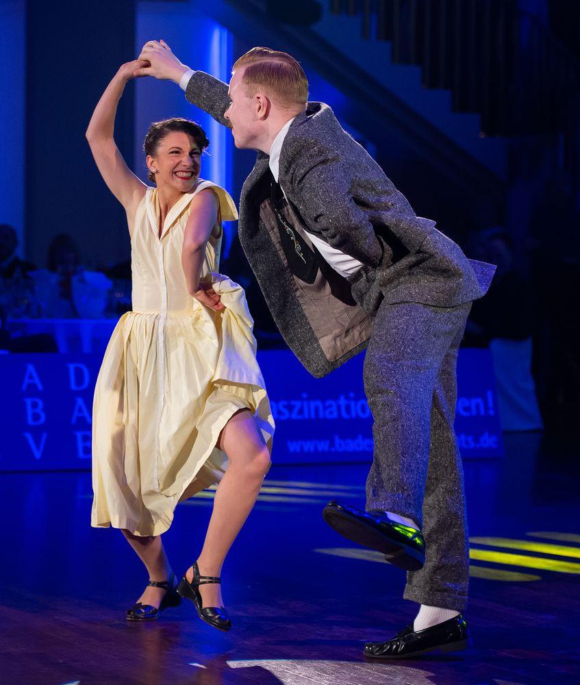 Nils Andren&Bianca Locatelli beim Boogie Woogie