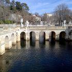 Nimes, les Jardins de la Fontaine ...