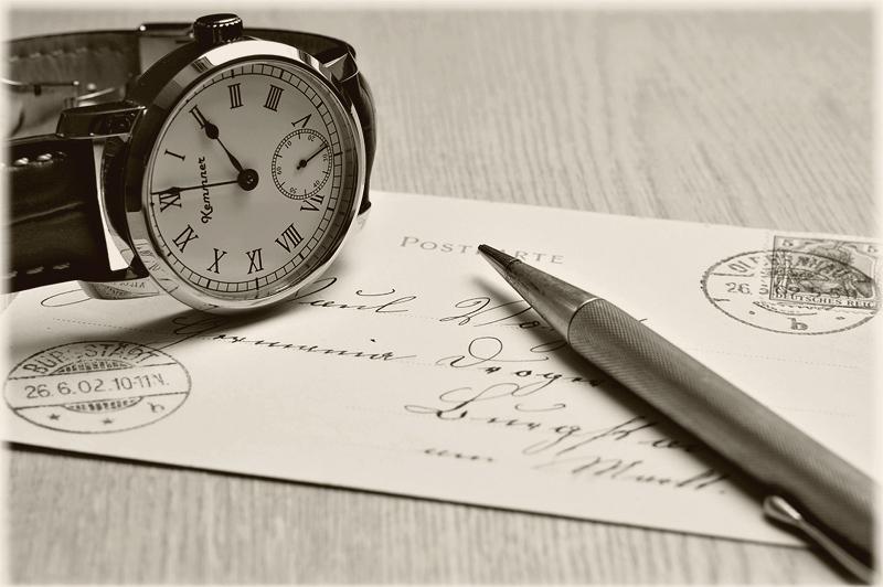Nimm Dir Zeit - Schreib mal wieder