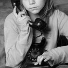 Nina am Telefon...