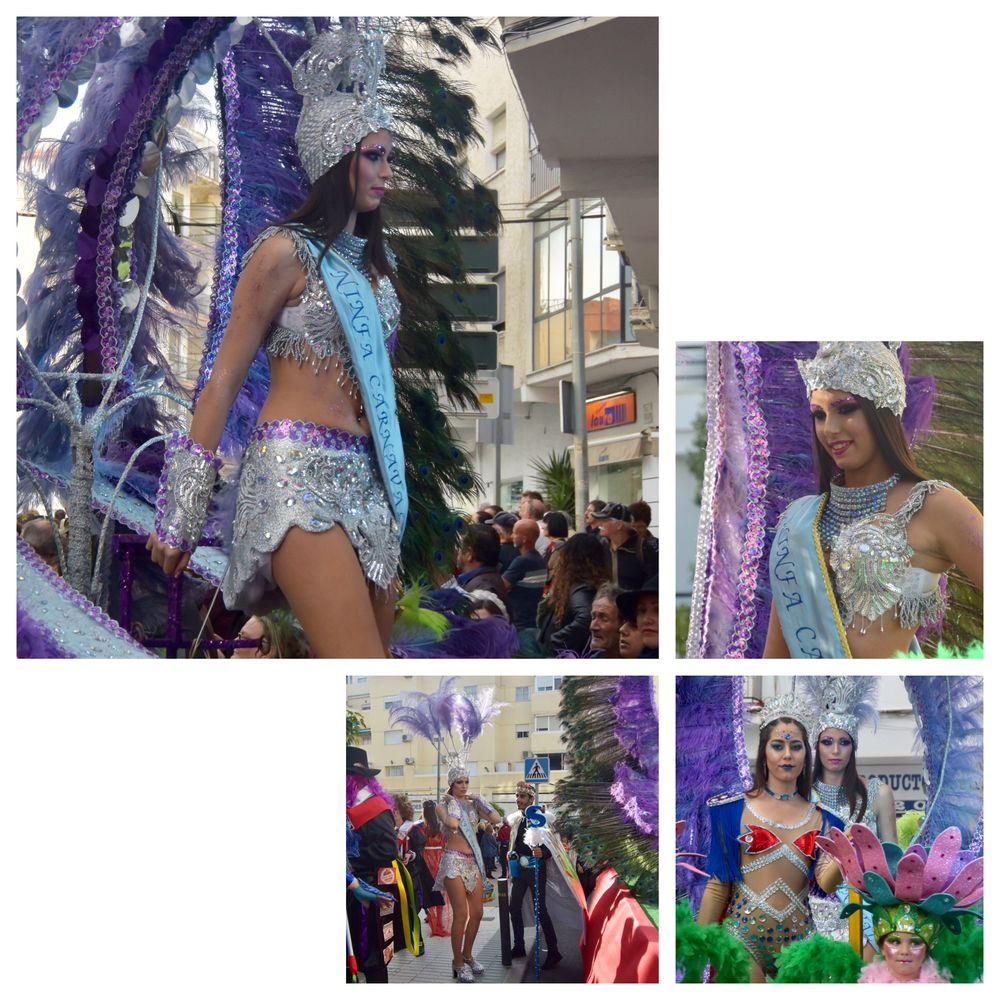 Ninfa del Carnaval Nerja 2019