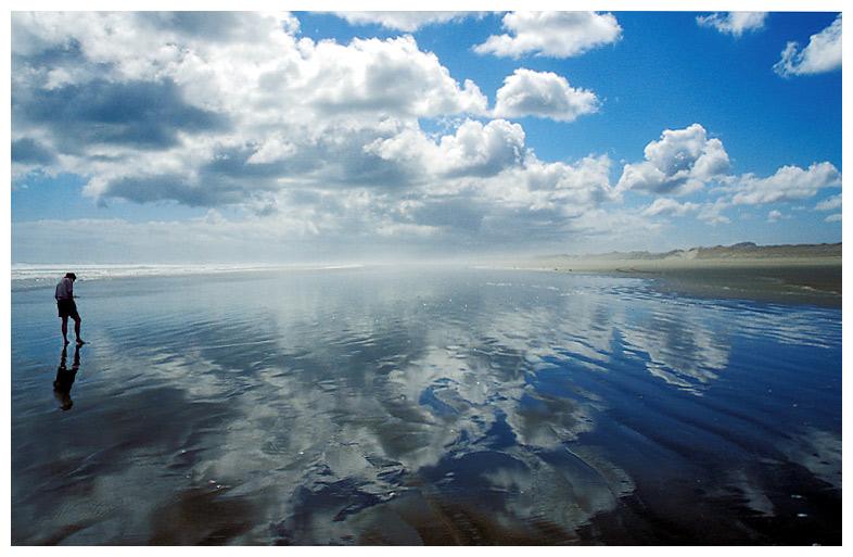Ninty Mile Beach <Neuseeland>
