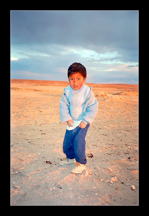 - niño boliviano -