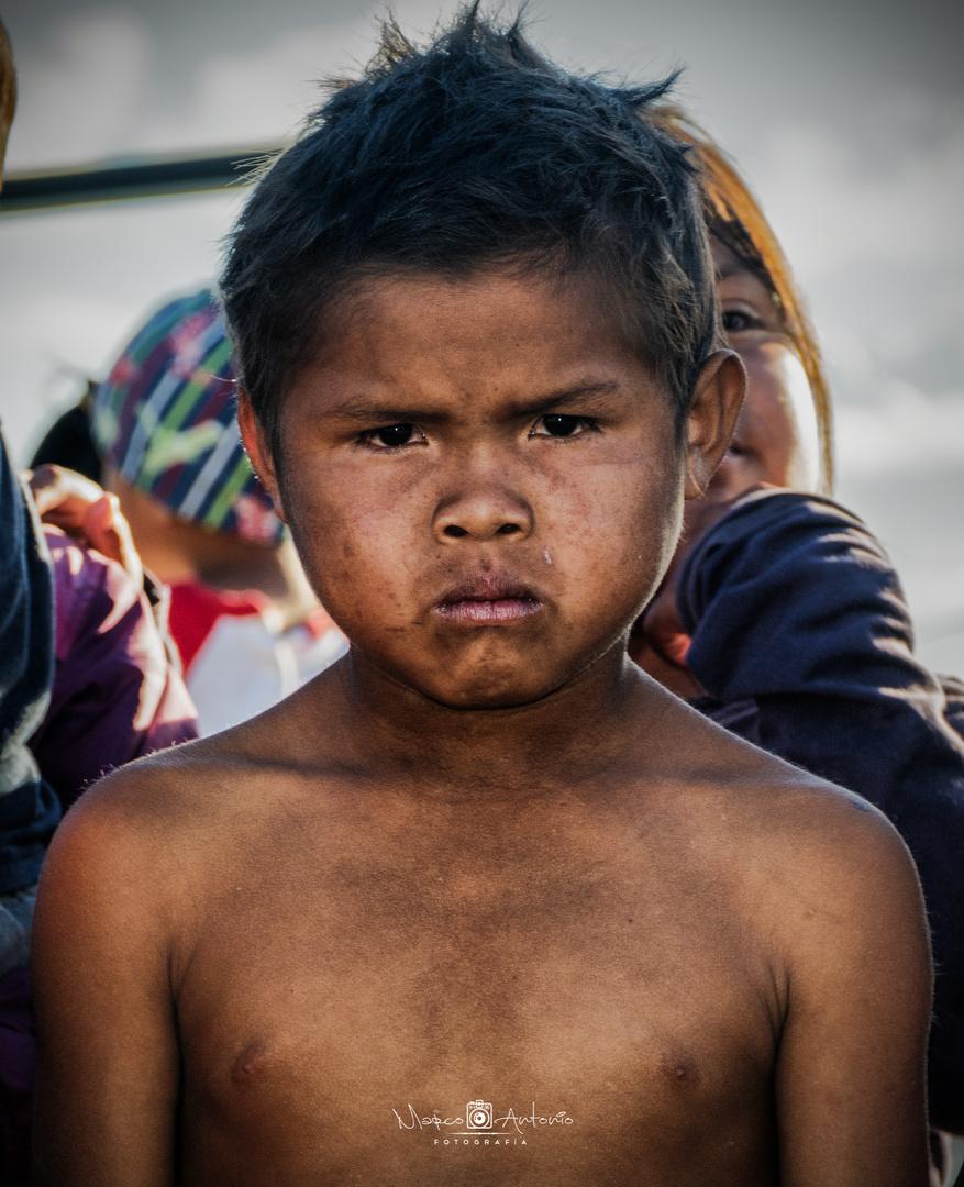Niño Etnia Pemón