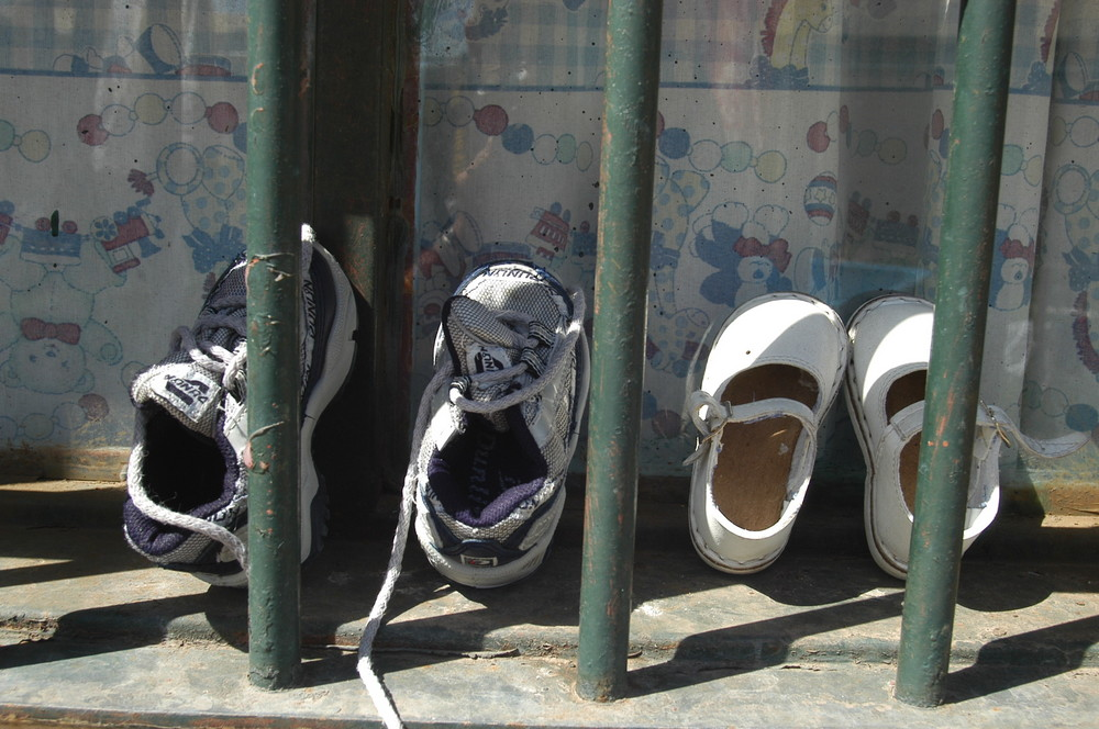 niños detenidos junto a sus madres en una unidad penal