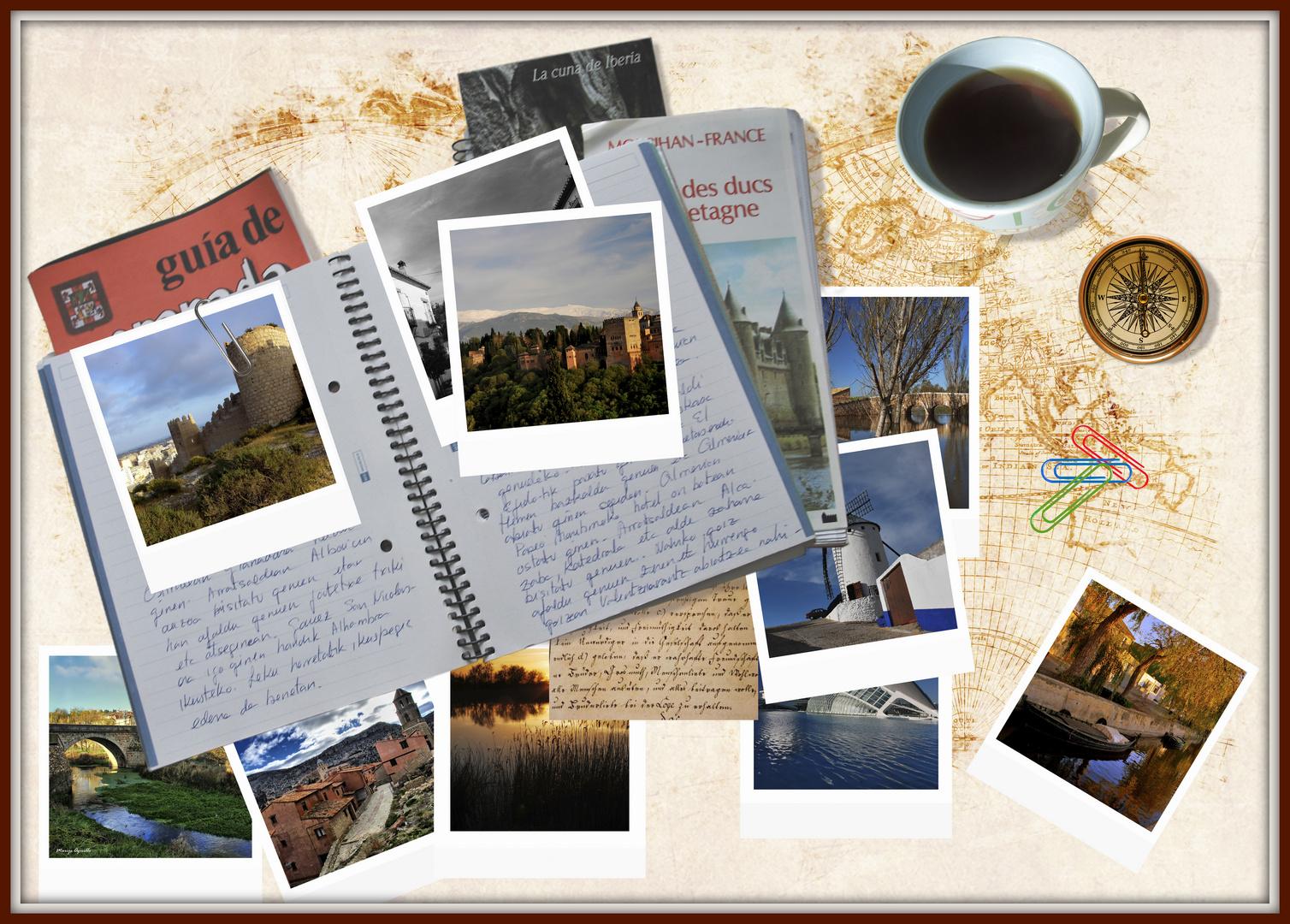 Nire bidai-koadoernoa - Mi cuaderno de viaje