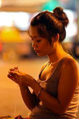 Nitting in Bangkok