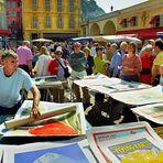 Nizza - jour de marché