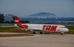 No Aeroporto Municipal do Rio de Janeiro