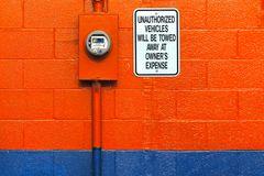 """"""" no parking II """", ohio, usa"""