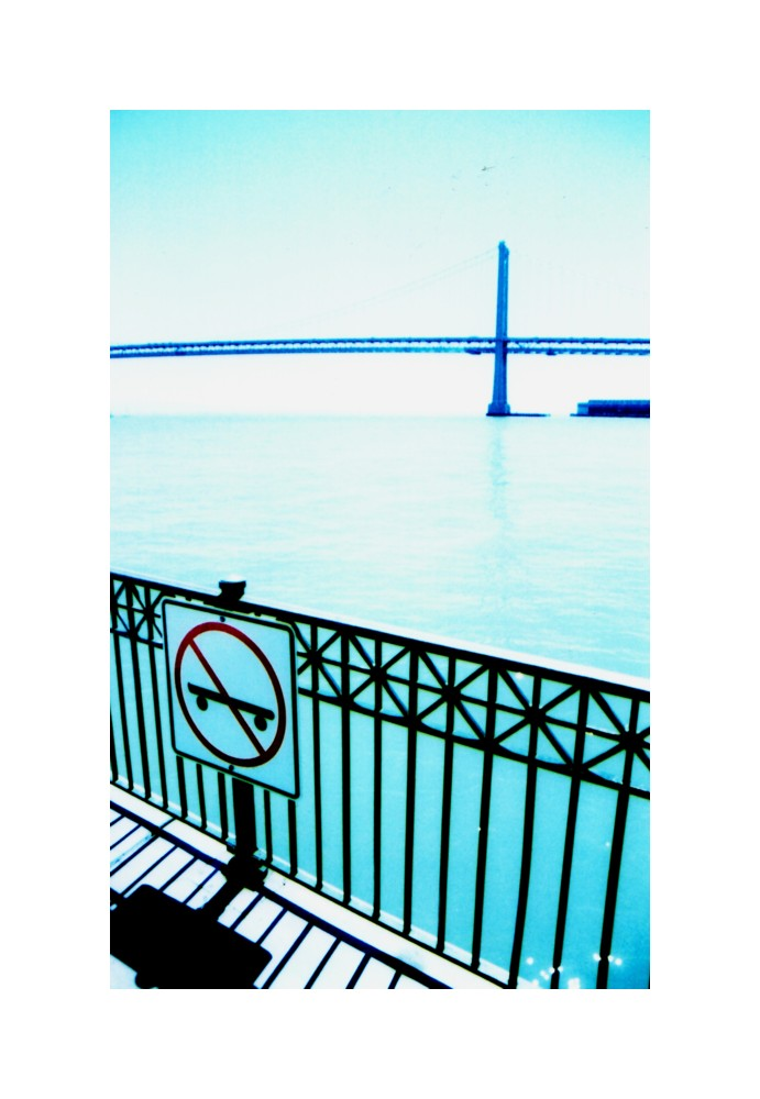 No Skateboards on Bay Bridge