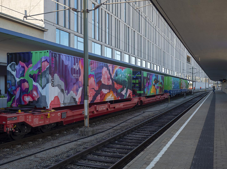 noah's train waggons