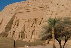 Noch ein Blick auf Abu Simbel